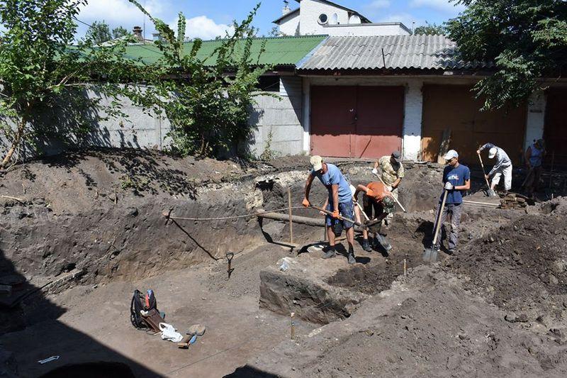 У Черкасах археологи провели розкопки