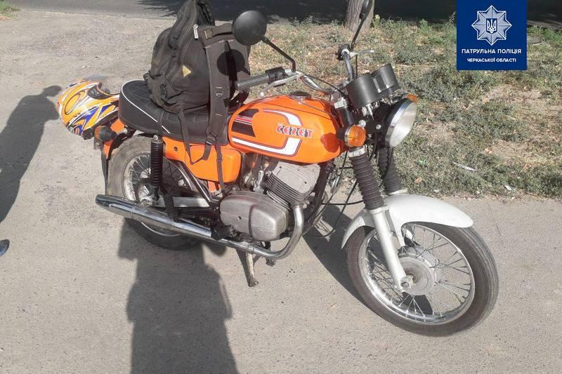 У Черкасах виявили мотоцикл, що перебуває в розшуку