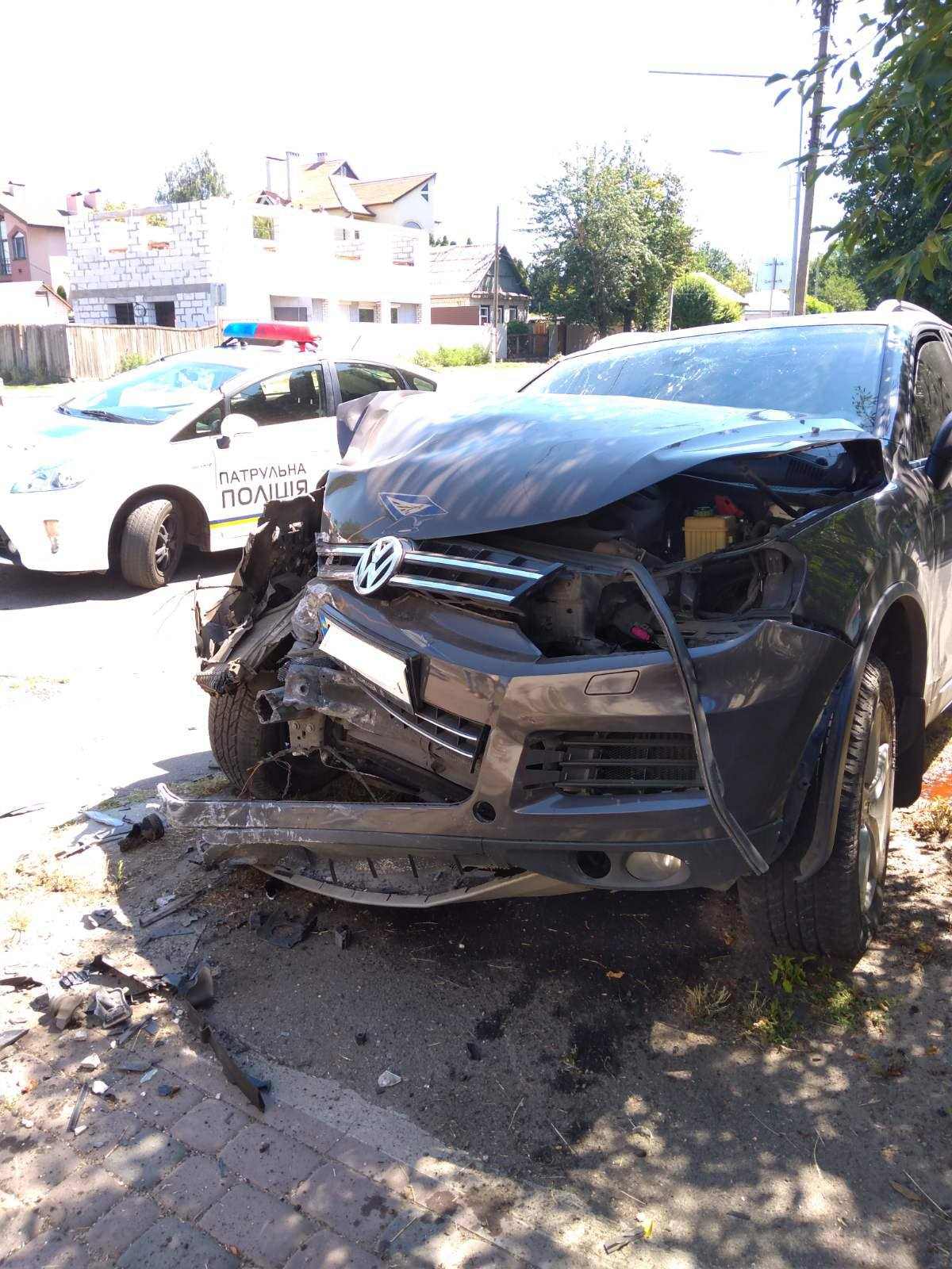 ДТП у Черкасах: постраждав чоловік