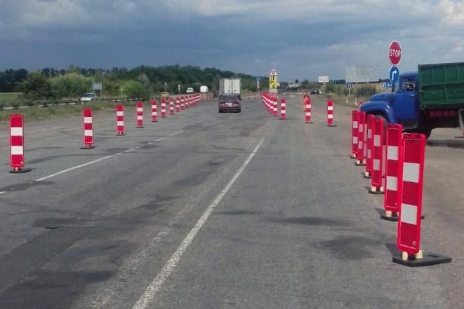 На в'їзді в Черкаси зі Сміли розпочали поточний ремонт автодороги Н-16