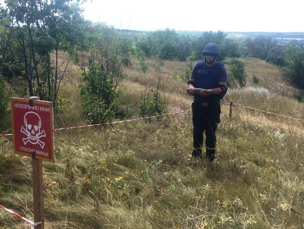 На Звенигородщині сапери знищили боєприпас