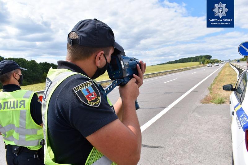 На Черкащині зафіксували понад 10 тисяч перевищень швидкості