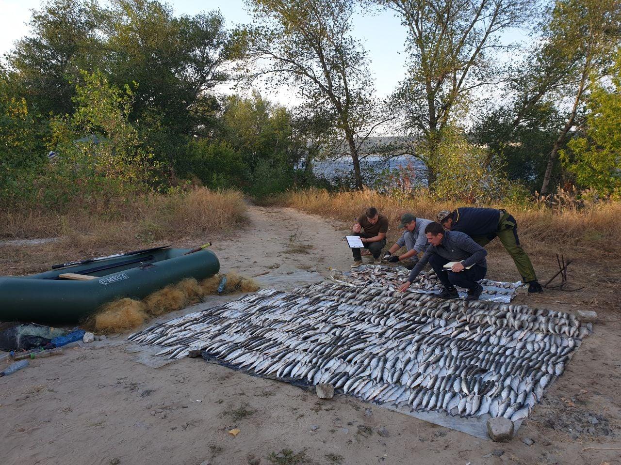 В Каневі інспектори Черкаського рибоохоронного патруля виявили браконьєрів