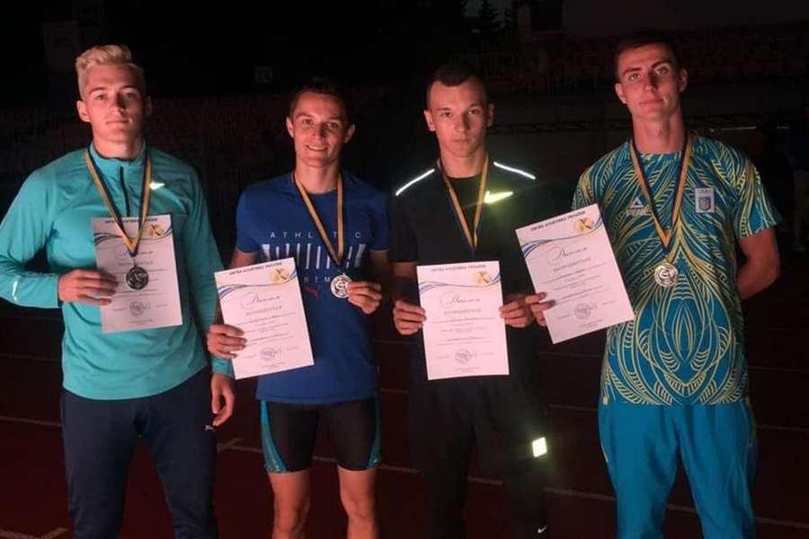Черкаські легкоатлети здобули нагороди чемпіонату України
