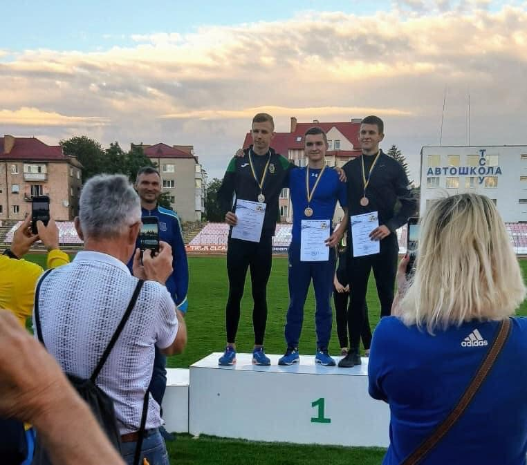 Черкащанин здобув «золото» чемпіонату України зі стрибків у довжину