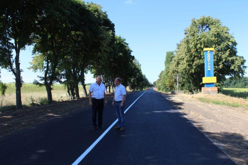 На Уманщині відремонтували автодорогу  Ропотуха – Шарин – Ятранівка