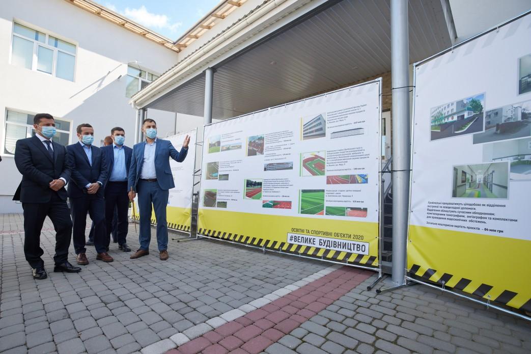 Президент доручив включити до програми «Велике будівництво» дитсадок для мікрорайону Митниця