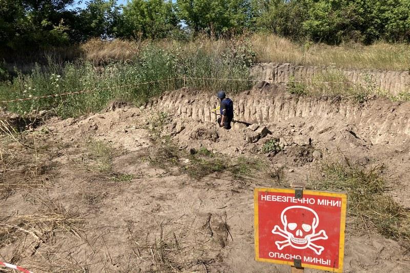 Чигиринські рятувальники знищили 152 мм артснаряд