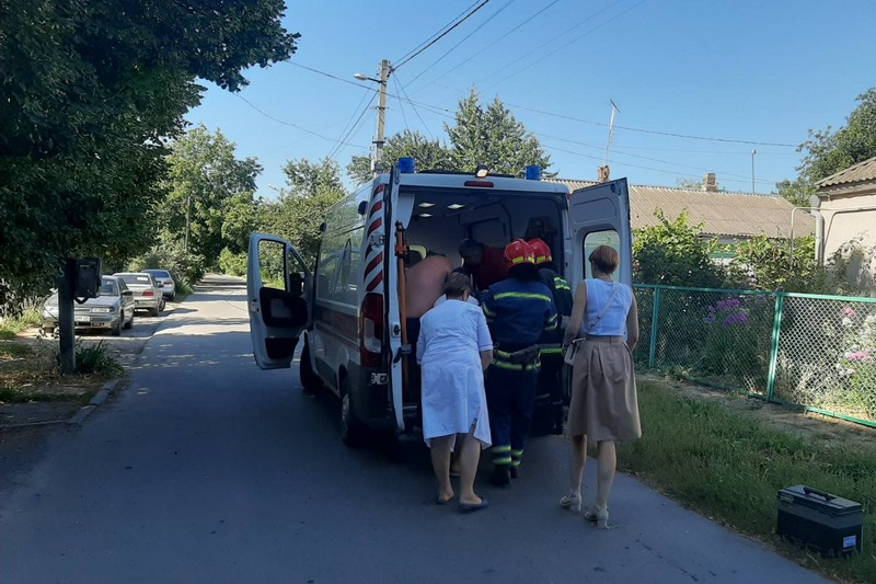У Монастирищі під час пожежі постраждав чоловік