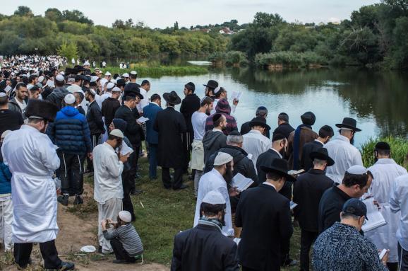 Уманчани збираються на віче, щоб вирішити питання приїзду в місто хасидів