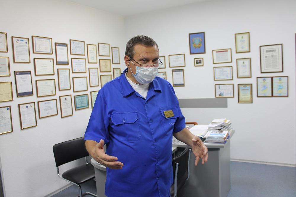Віктор Парамонов: «Хочу зробити деякі зміни в галузі медицини незворотніми»
