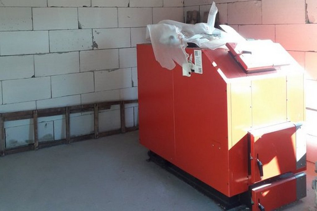 У Ротмистрівській ОТГ замінили котли на твердопаливні