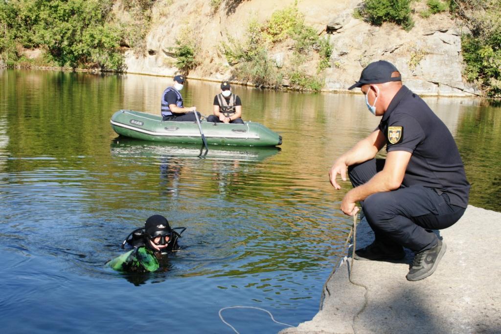 Водолази Служби порятунку обстежили водойму в Умані