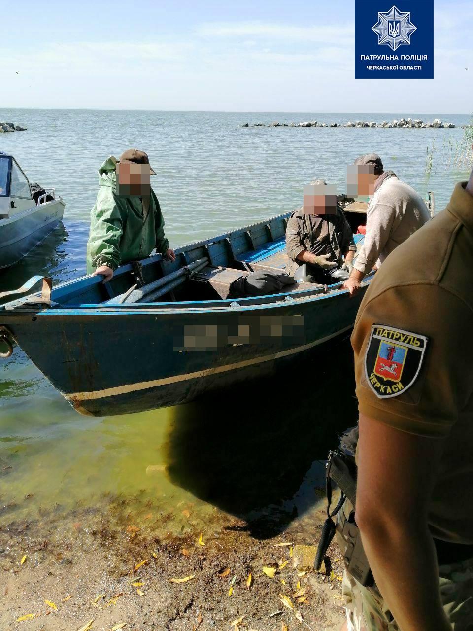 На Черкащині браконьєри виловили риби на понад півмільйона гривень