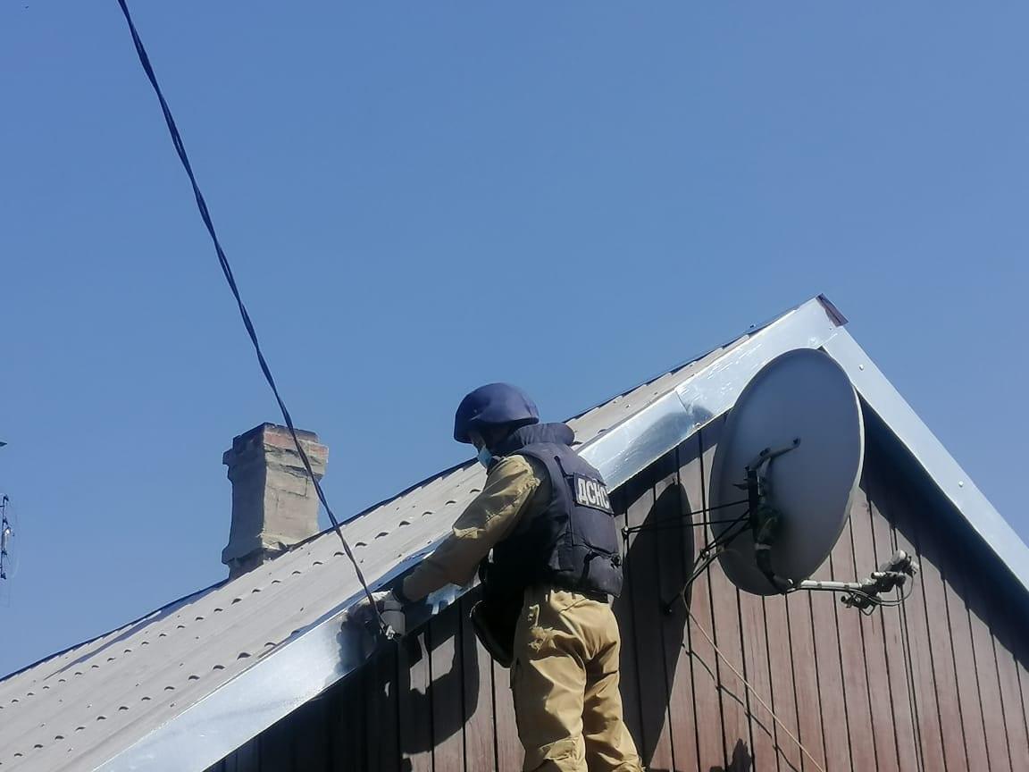 На Донеччині рятувальники Черкащини продовжують відновлювальні роботи