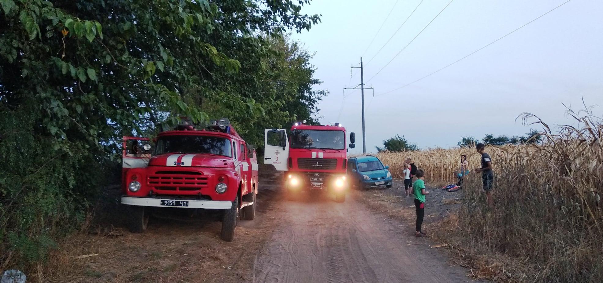 За добу рятувальники ліквідували 16 пожеж на відкритих територіях