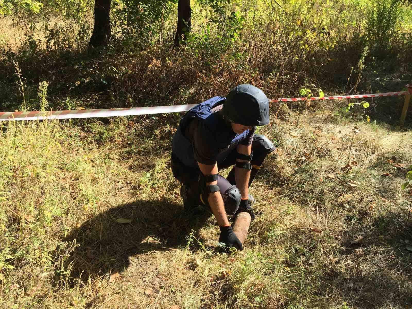 Рятувальники знищили 2 вибухонебезпечні предмети на Черкащині
