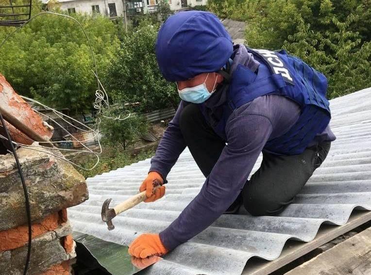 Черкаські рятувальники працюють на лінії розмежування в ООС