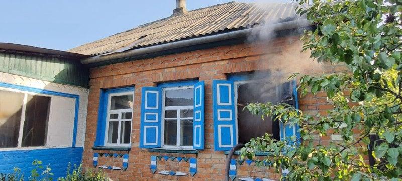 У Черкаському районі під час пожежі загинула жінка