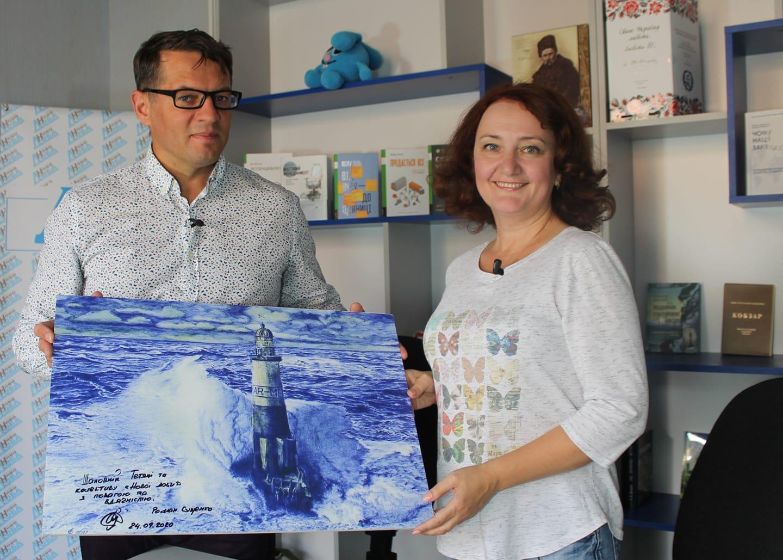 Роман Сущенко: «Вижити в російському полоні мені допомогли люди, картини і книги» (ВІДЕО)