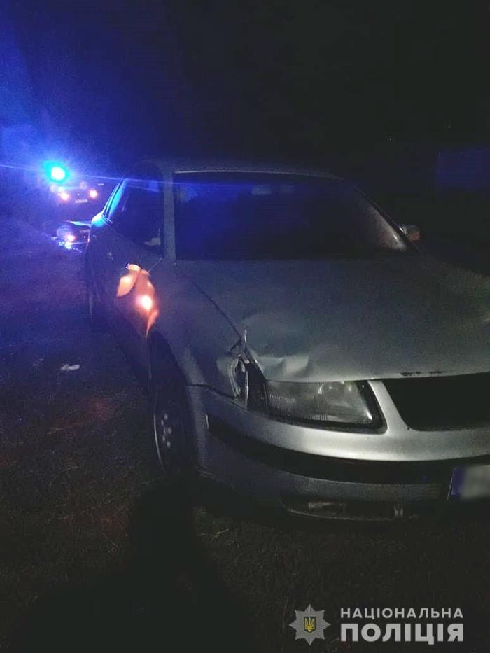 На Черкащині водій в стані алкогольного сп'яніння на смерть збив 16-річну дівчину