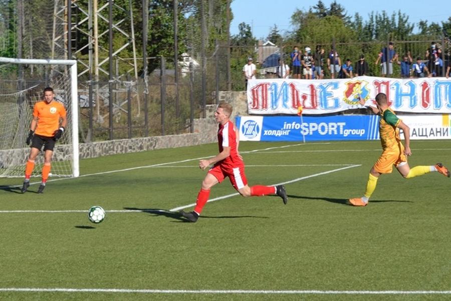 Черкаський МСК «Дніпро» на виїзді зіграв «в нічию» в Чемпіонаті України з футболу