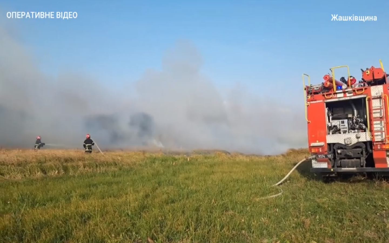 В області ліквідували понад 20 пожеж в екосистемах (ВІДЕО)