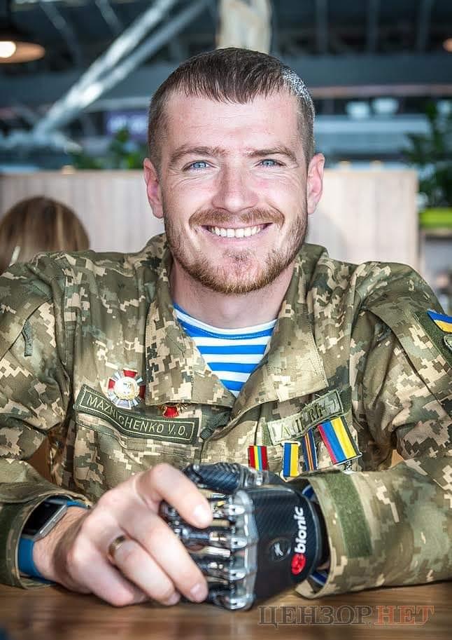 Ветеран АТО Вадим Мазніченко – разом з командою партії ЄС