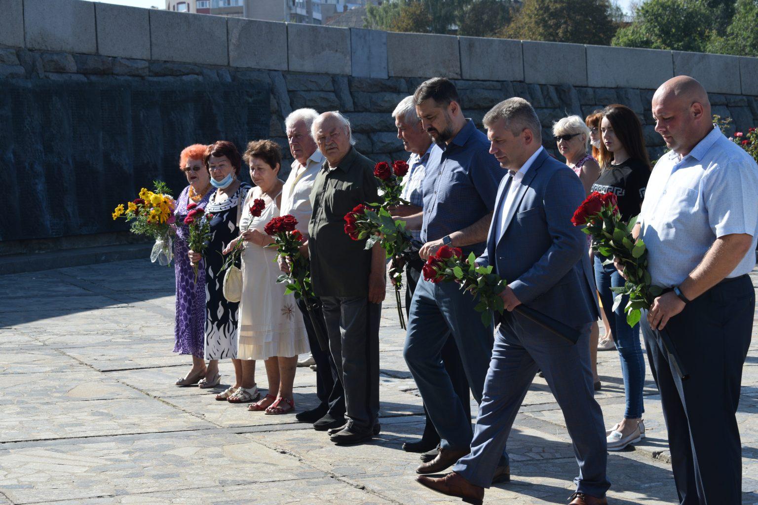 У Черкасах вшанували пам'ять загиблих Другої світової війни