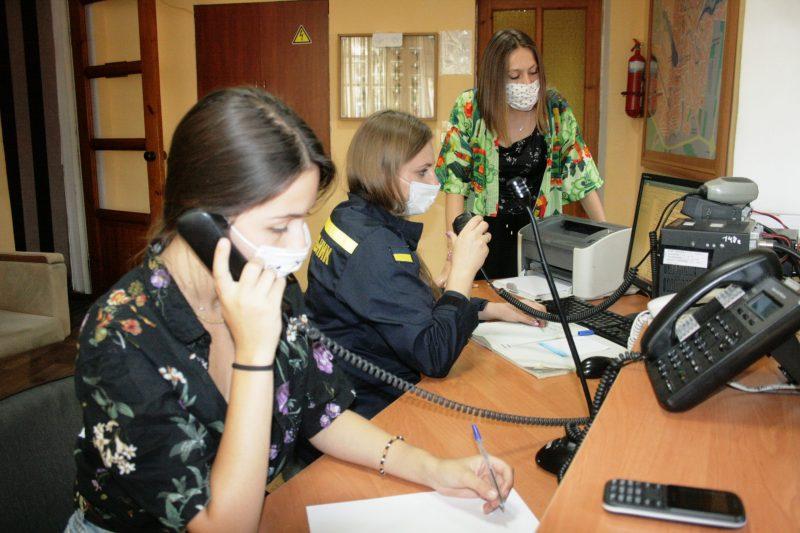 На Уманщині волонтери-диспетчери допомагатимуть приймати виклики від паломників