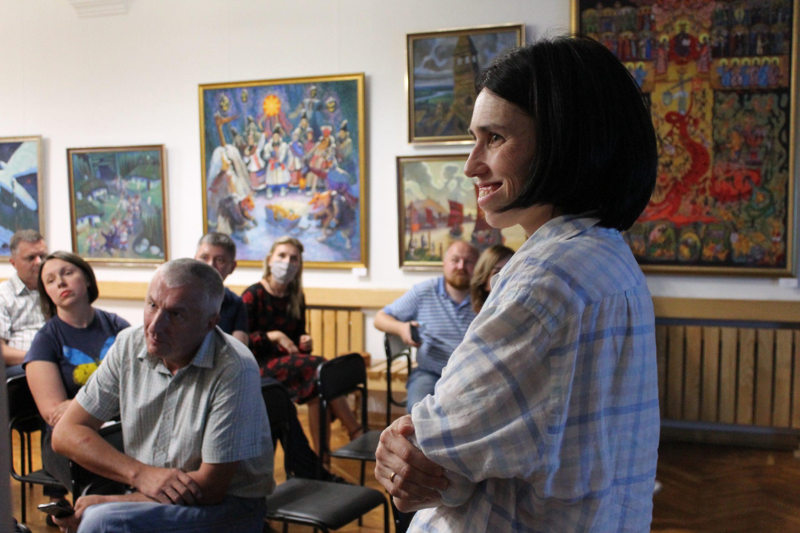 Співпрацю бізнесу і культурного осередку обговорили в Черкасах