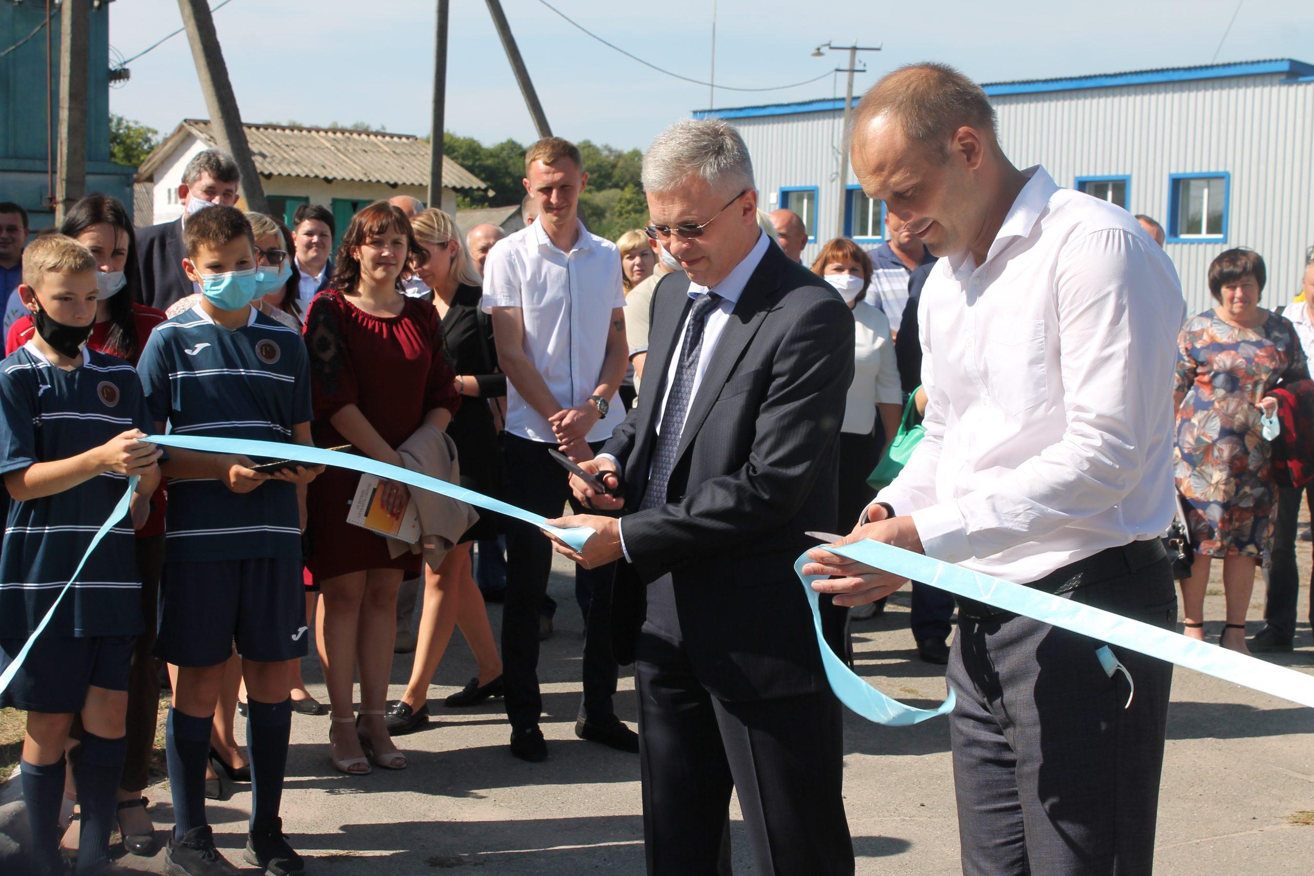 Мініфутбольне поле презентували в Степанецькій ОТГ