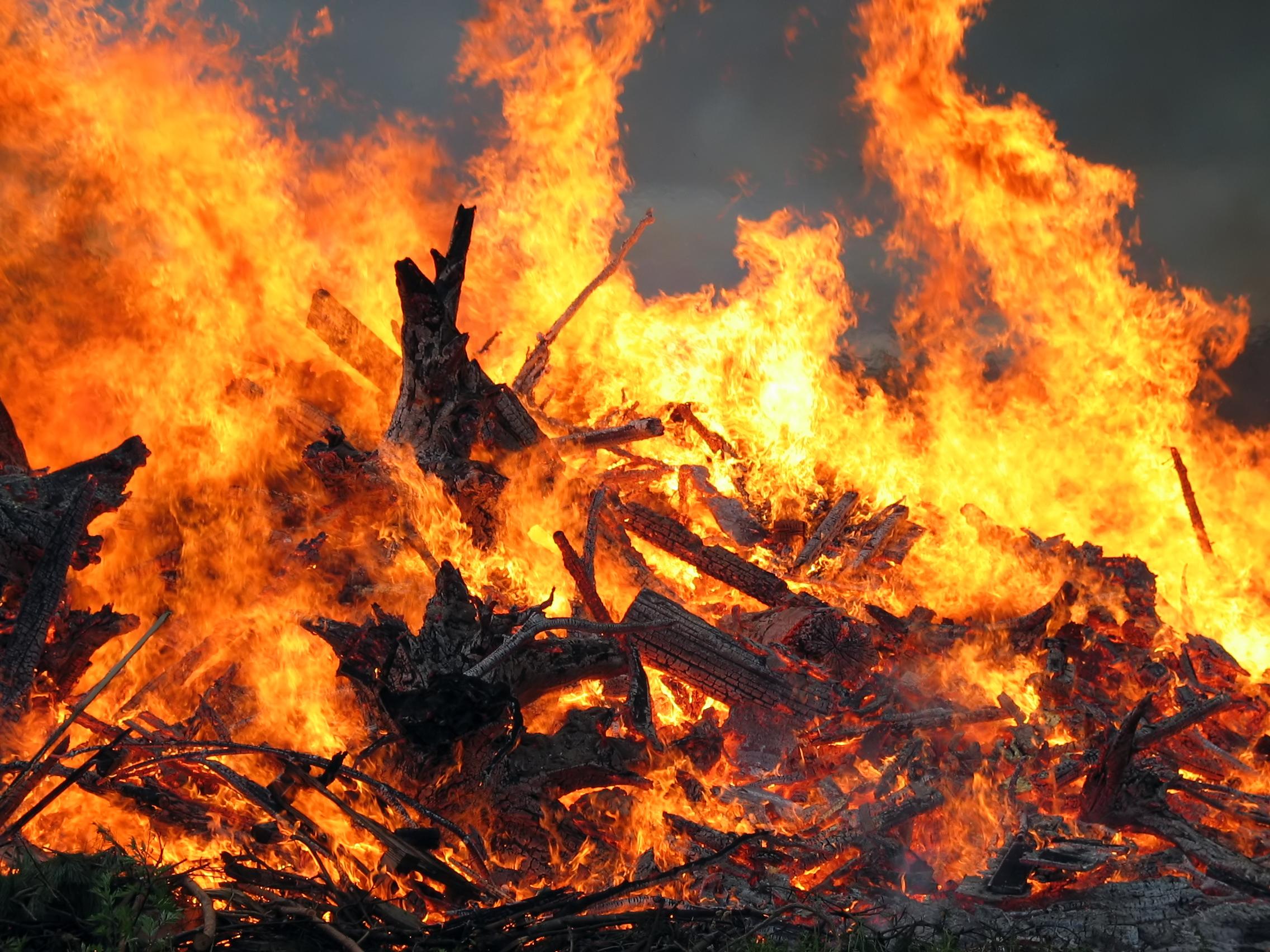 Масштабну пожежу на сміттєзвалищі у Черкасах ліквідовано (ВІДЕО)