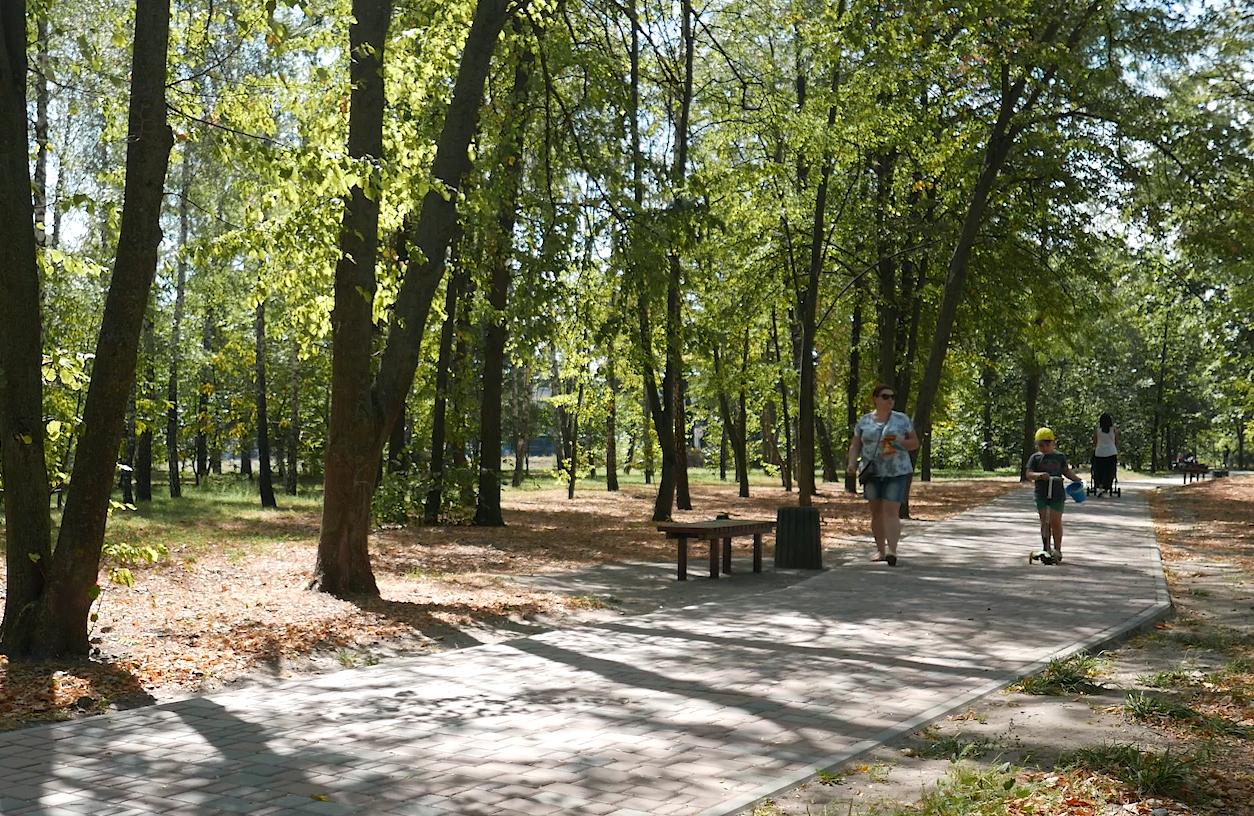 Окраса Черкас – парки міста
