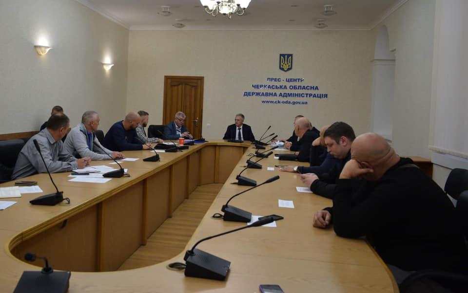 У Черкасах відбулось засідання Координаційної ради учасників бойових дій
