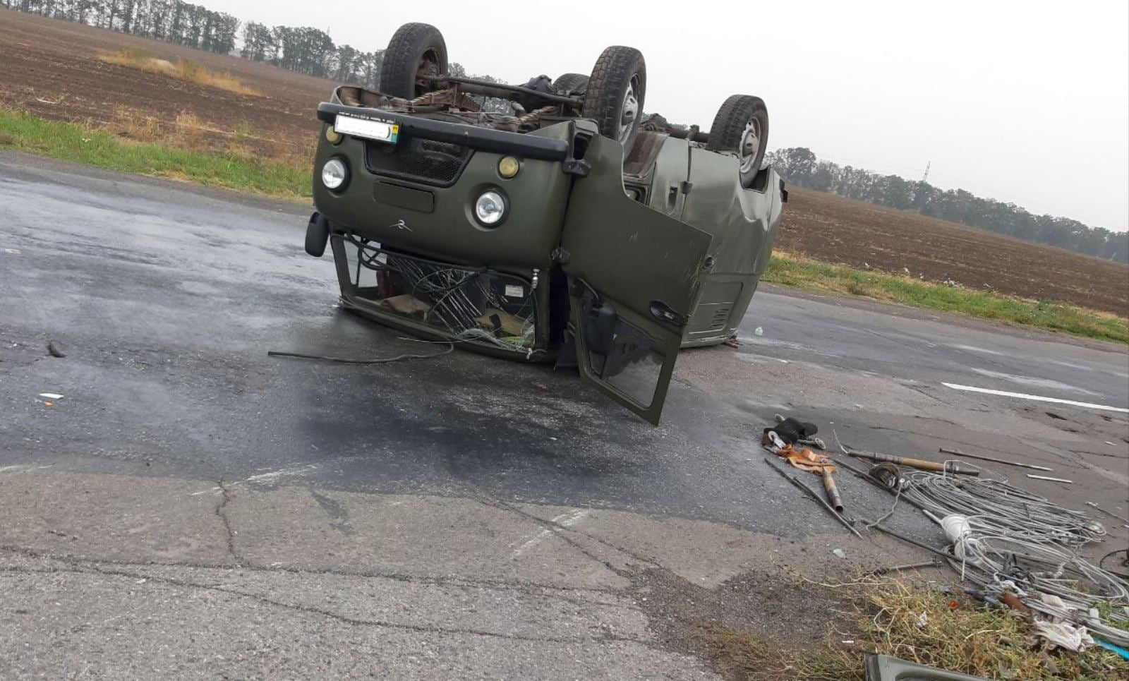 На Черкащині ДТП з постраждалими на трасі Черкаси-Сміла