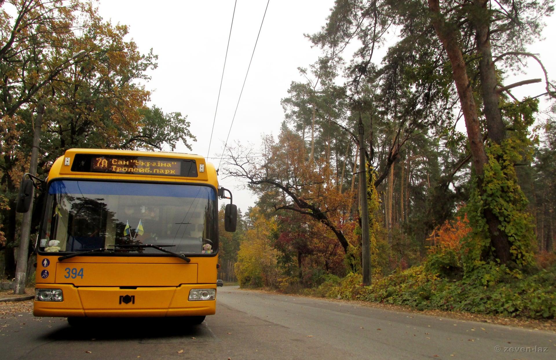 У Черкасах відновить роботу тролейбус №50