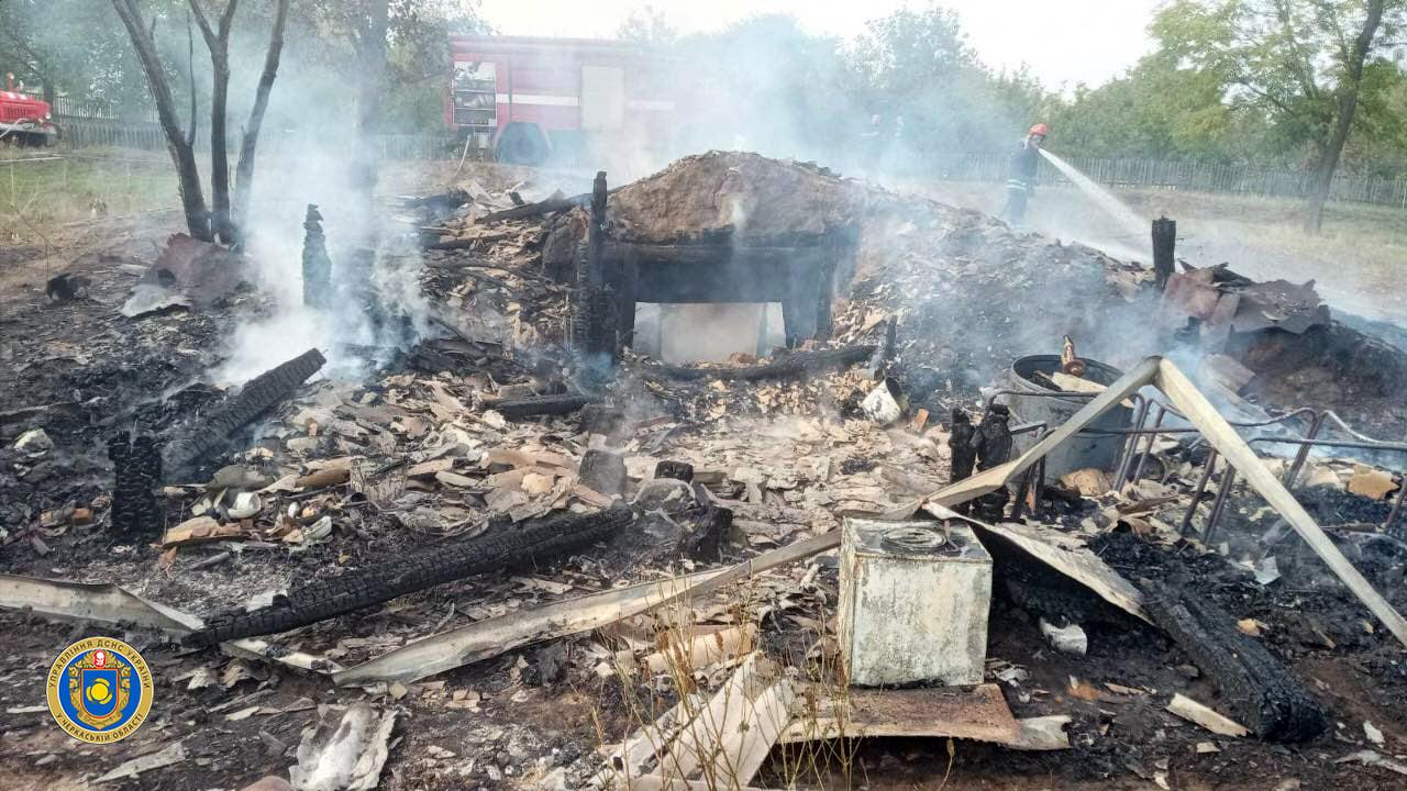 На Черкащині сталась пожежа чоловічого монастиря