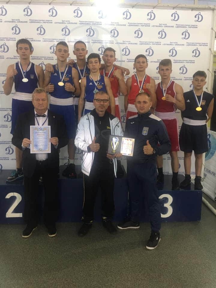 Черкаські боксери вибороли вісім нагород чемпіонату України