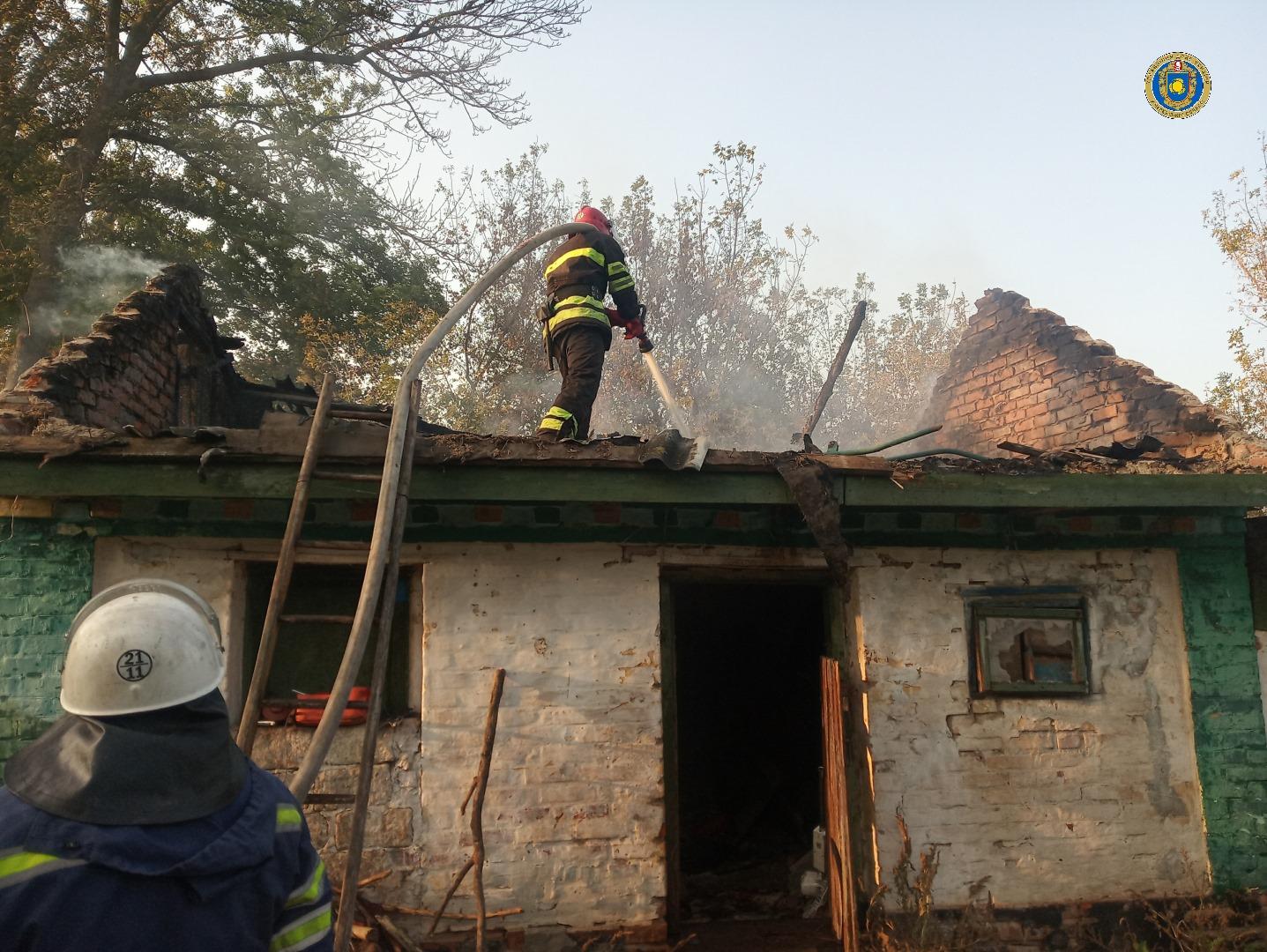 На Черкащині дитячі пустощі з вогнем призвели до пожежі