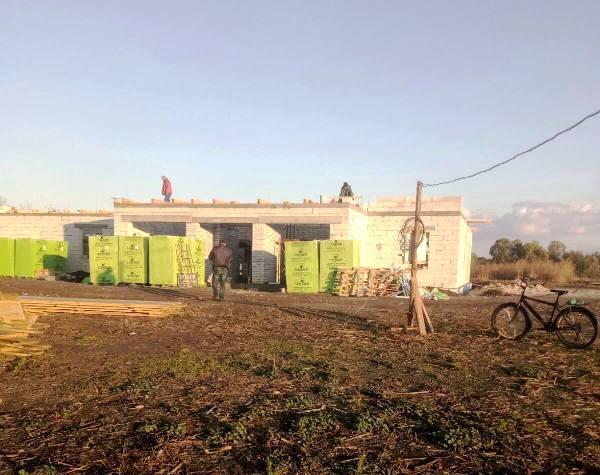 У Богодухівці та Крутьках будують амбулаторії