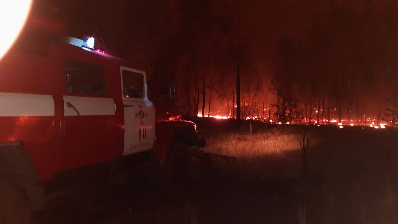 Лісівники Черкащини вирушили на Луганщину для гасіння лісових пожеж