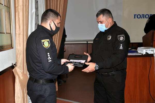 Поліцейських Черкащини нагородили відзнаками МВС України