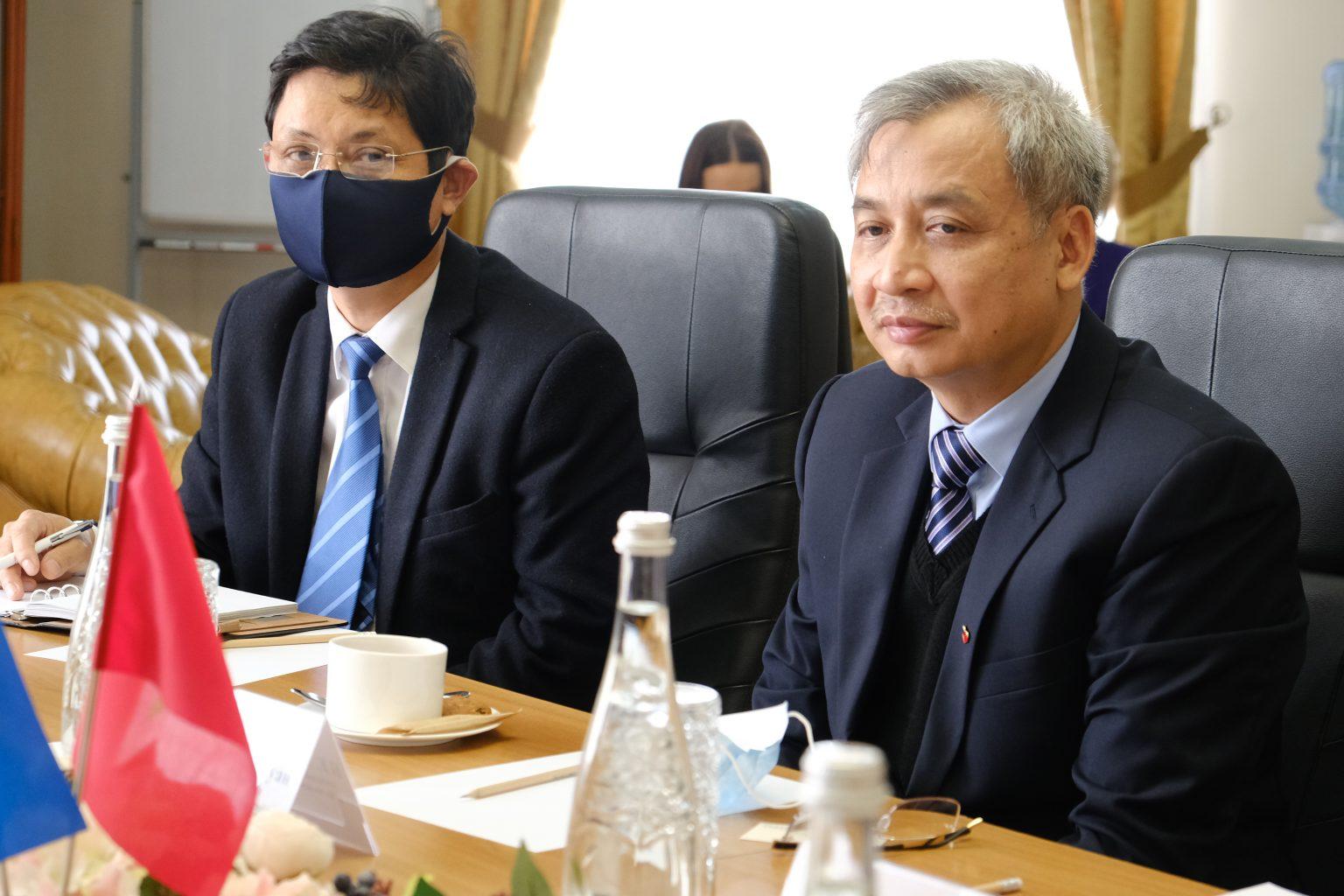 Сергій Сергійчук зустрівся із Послом Республіки В'єтнам