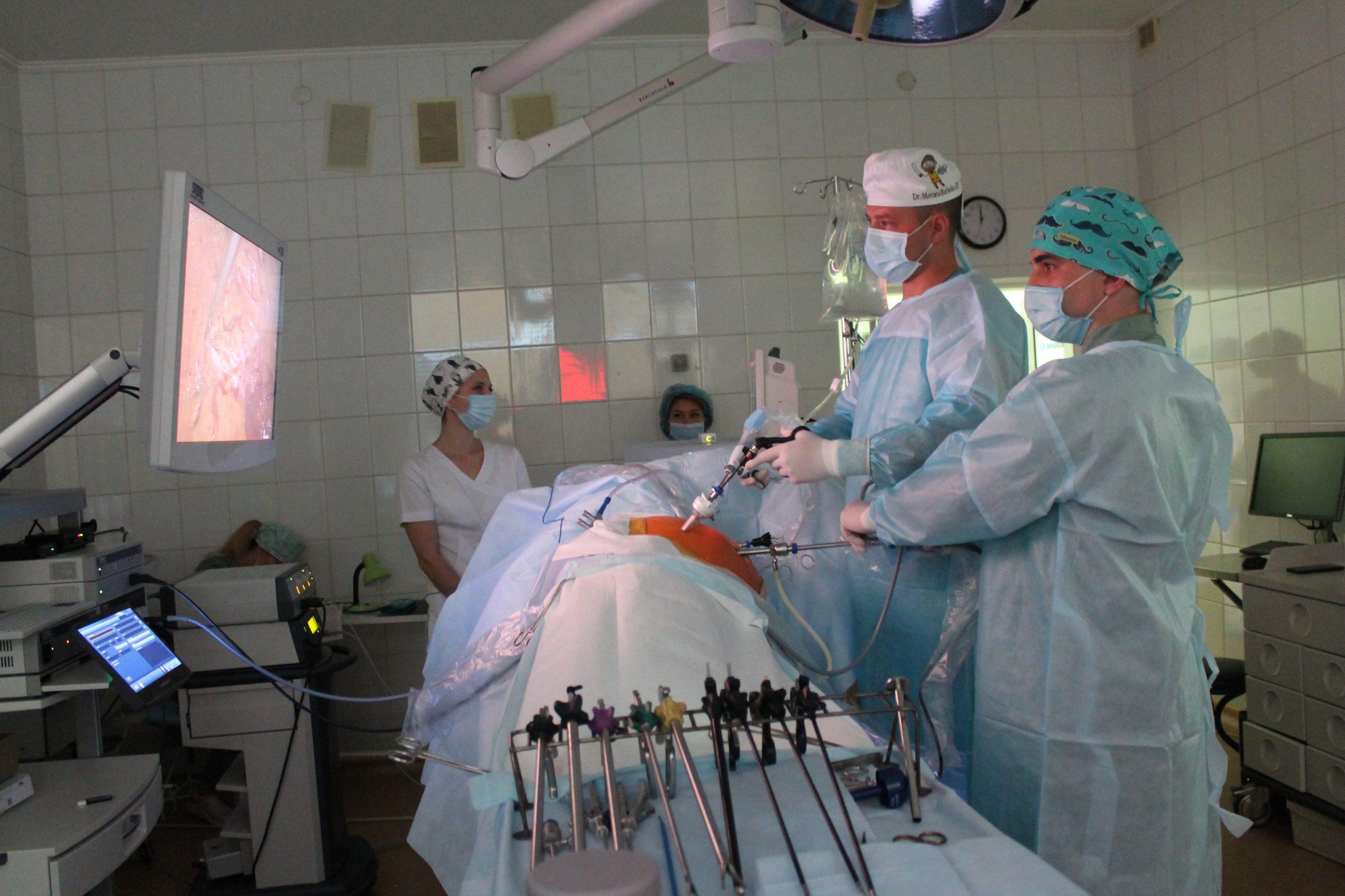 У Черкаському онкодиспансері з'явилося унікальне хірургічне обладнання (ВІДЕО)