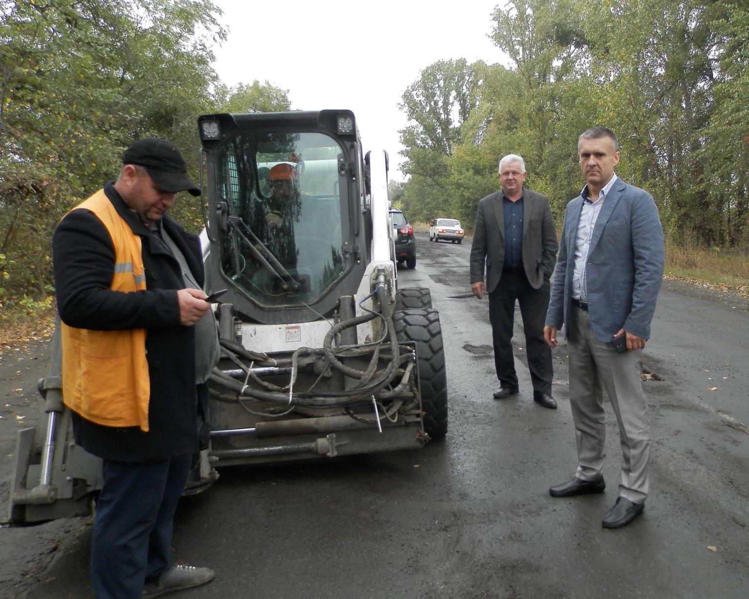 #Велике будівництво доріг на Городищині