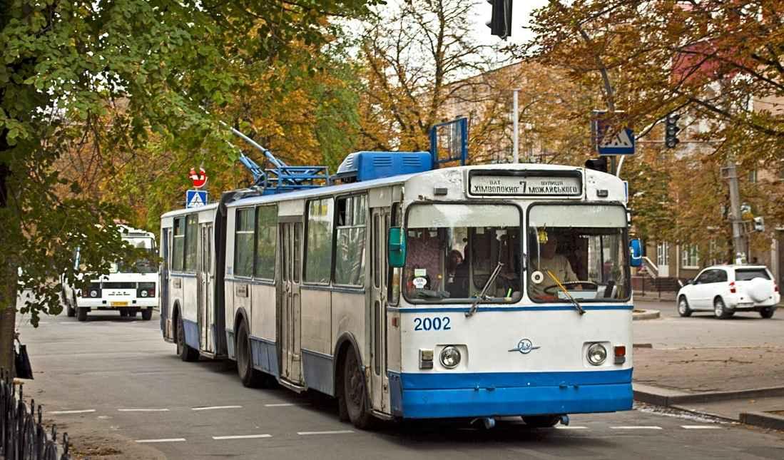 Рух тролейбусів у Черкасах тимчасово зміниться
