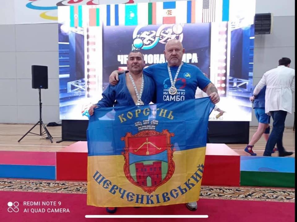 Черкащанин став бронзовим призером чемпіонату світу з самбо