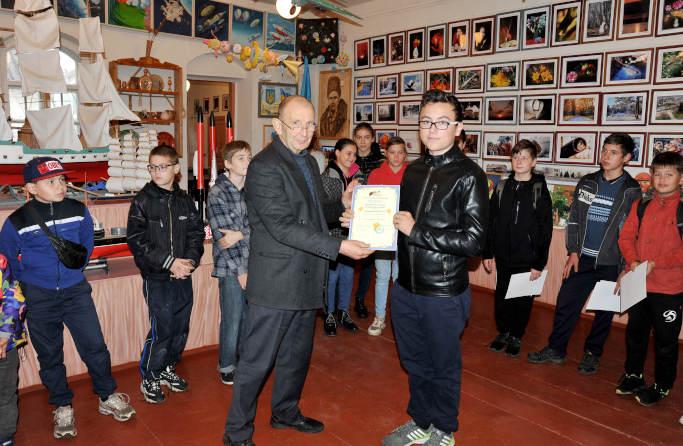 Школяр із Черкащини став лауреатом національного конкурсу «Зоряний Кайт»