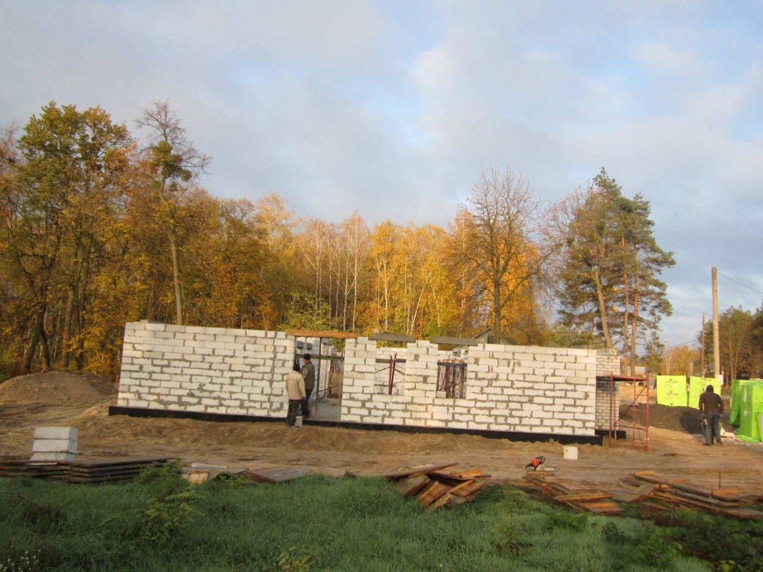 На Чорнобаївщині будують амбулаторію